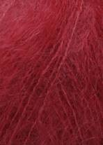 RED MOHAIR SILK